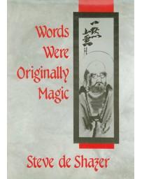 Words were originally magic