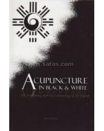 Acupuncture in Black - White