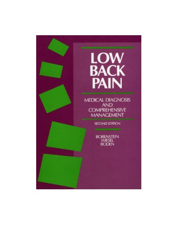 Low Back Pain - Medical Diagnosis and Comprehensive Management  2nd edition