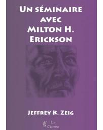 Un séminaire avec Milton H. Erickson    (Bleu - légèrement abîmé)