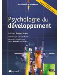 Psychologie du développement    2e édition, Adaptée au contexte européen