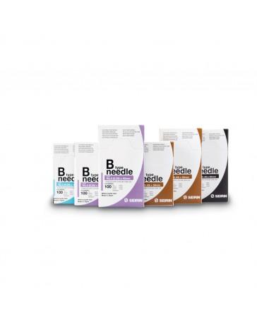 Seirin® type B - zonder naaldgeleider (100 naalden/doos) - Meerdere maten beschikbaar