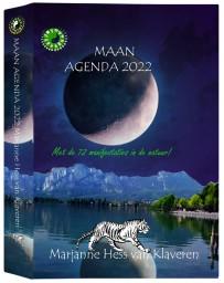 Maan Agenda 2022 - Met de 12 manifestaties in de natuur !