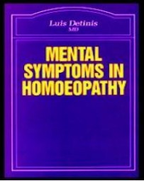 Mental Symptoms in Homoeopathy