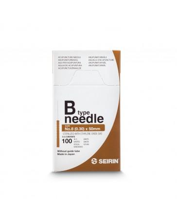 Seirin® 0,30 x 0 mm - B 8-50 - sans guide (100  pcs/boîte) à date de péremption proche  02/2022