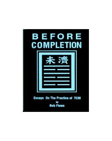 Before Completion - Essays on the Practice of TCM