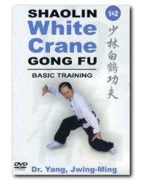 Shaolin White Crane Gong Fu - Basic Training 1 - 2  (DVD)
